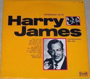 Cover - Harry James: Swinging With Harry James