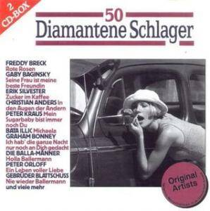 Cover - Günter Wewel: 50 Diamantene Schlager Hits