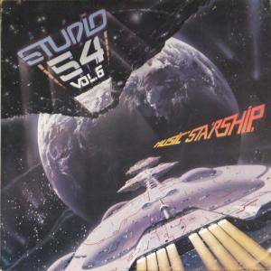 "Cover - Giorgio Moroder & Joe Esposito: Studio 54. - Vol.6 ""Music Starship"""