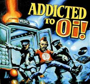 Cover - Crack, The: Addicted To Oi!
