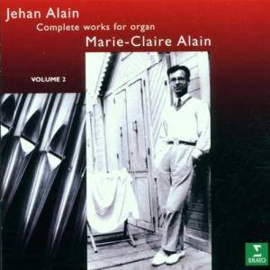 Cover - Jehan Alain: Complete works for organ - Volume 2