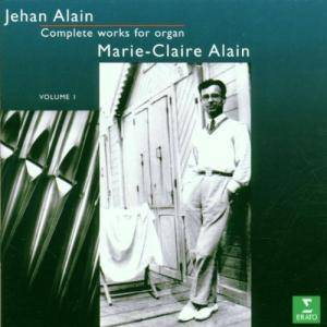Cover - Jehan Alain: Complete works for organ  - Volume 1