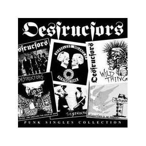 The Destructors: Punk Singles Collection - Cover