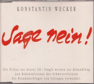 Cover - Konstantin Wecker: Sage Nein!