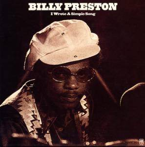 Cover - Billy Preston: I Wrote A Simple Song