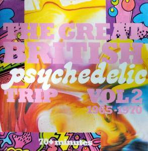 Cover - Poets, The: Great British Psychedelic Trip Vol 2 1965-1970, The