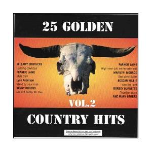 25 Golden Country Hits Vol. 2 - Cover