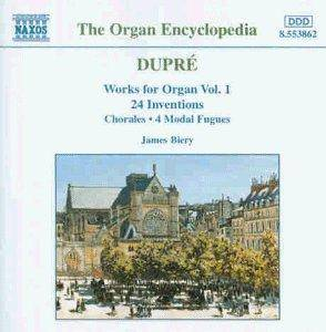 Cover - Marcel Dupré: Works For Organ Vol. 1