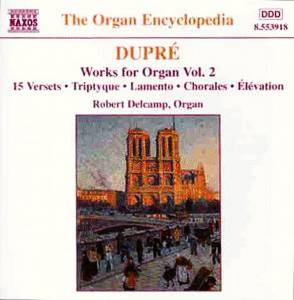 Cover - Marcel Dupré: Works For Organ Vol. 2