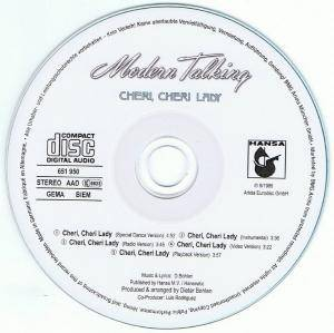 Modern Talking: Cheri, Cheri Lady (Single-CD) - Bild 3