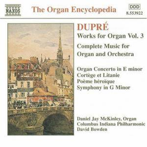 Cover - Marcel Dupré: Works For Organ Vol. 3
