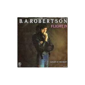 Cover - B.A. Robertson: Flight 19