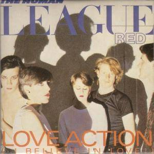 The Human League: Hard Times / Love Action (I Believe In Love) - Cover