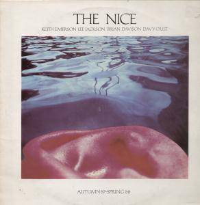 The Nice: Autumn '67 - Spring '68 - Cover