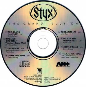 Styx: The Grand Illusion (CD) - Bild 3