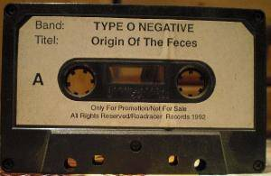 Type O Negative: The Origin Of The Feces (Not Live At Brighton Beach) (Promo-Tape) - Bild 1