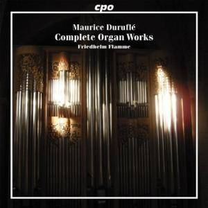 Cover - Maurice Duruflé: Complete Organ Works