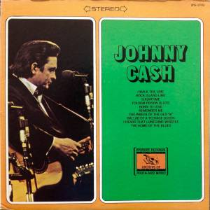 Johnny Cash: Johnny Cash (Everest Records) - Cover