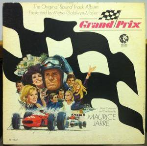 Cover - Maurice Jarre: Grand Prix (The Original Sound Track Album)