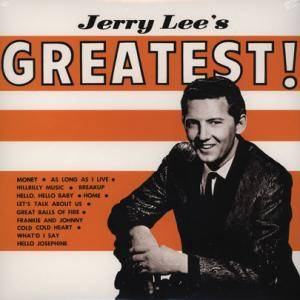 Cover - Jerry Lee Lewis: Jerry Lee's Greatest!