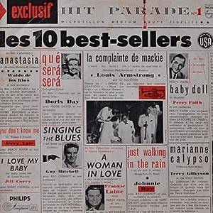 Cover - Terry Gilkyson: Exclusif Hit Parade No. 1 - Les 10 Best-Sellers