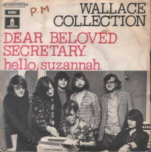 Cover - Wallace Collection: Dear Beloved Secretary