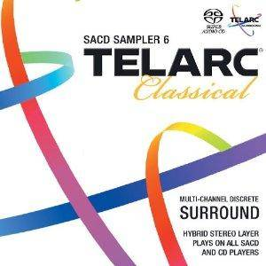 Cover - Jeanne Demessieux: Telarc Classical Sacd Sampler 6