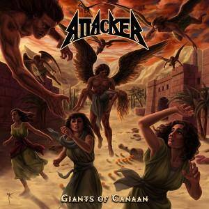 Attacker: Giants Of Canaan - Cover