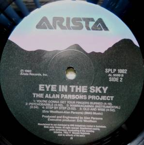 The Alan Parsons Project: Eye In The Sky (LP) - Bild 4