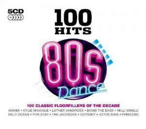 Cover - Glenn Jones: 100 Hits 80s Dance