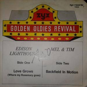 Cover - Edison Lighthouse: Love Grows