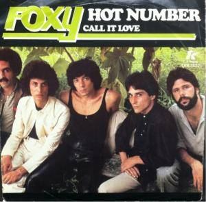 Cover - Foxy: Hot Number