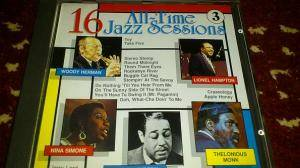 Cover - Cannonball Adderley: 16 All-Time Jazz Sessions 3