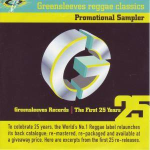 Greensleeves Records / The First 25 Years - Cover