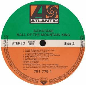 Savatage: Hall Of The Mountain King (LP) - Bild 4