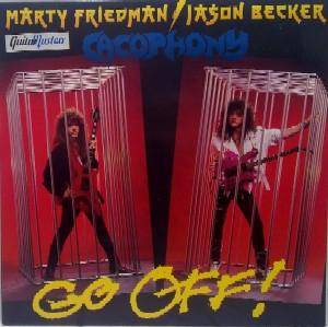 Cacophony: Go Off! - Cover