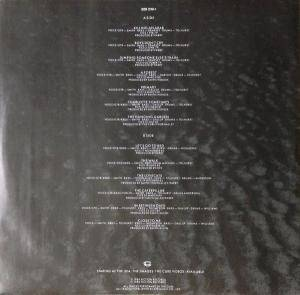 The Cure: Standing On A Beach - The Singles (LP) - Bild 4