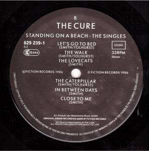 The Cure: Standing On A Beach - The Singles (LP) - Bild 7