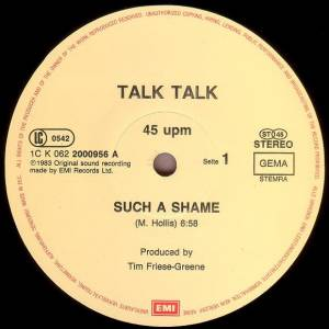 "Talk Talk: Such A Shame (12"") - Bild 3"
