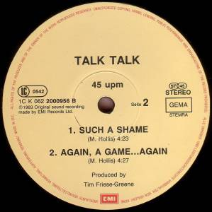"Talk Talk: Such A Shame (12"") - Bild 4"