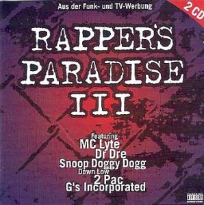 Rapper's Paradise III - Cover