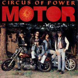 Cover - Circus Of Power: Motor