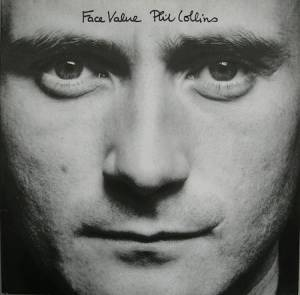 Phil Collins: Face Value - Cover