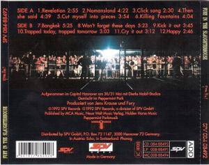 Fury In The Slaughterhouse: Pure Live! (CD) - Bild 2