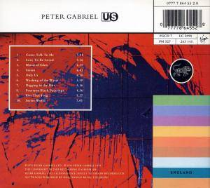Peter Gabriel: Us (CD) - Bild 4