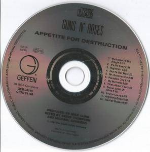 Guns N' Roses: Appetite For Destruction (CD) - Bild 3