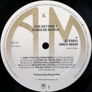 Chris de Burgh: The Getaway (LP) - Bild 3