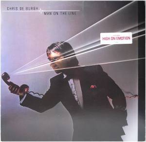 Chris de Burgh: Man On The Line (LP) - Bild 3
