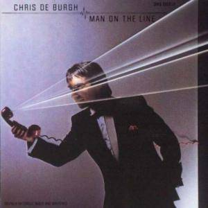 Chris de Burgh: Man On The Line - Cover