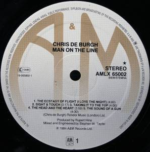Chris de Burgh: Man On The Line (LP) - Bild 8